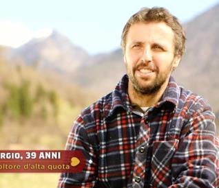 Giorgio, 39 anni, agricoltore ad alta quota
