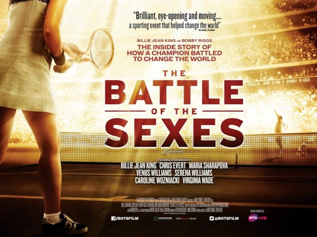 Poster del film Battle of the Sexes