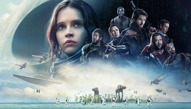 Il poster di Rogue One: A Star Wars Story