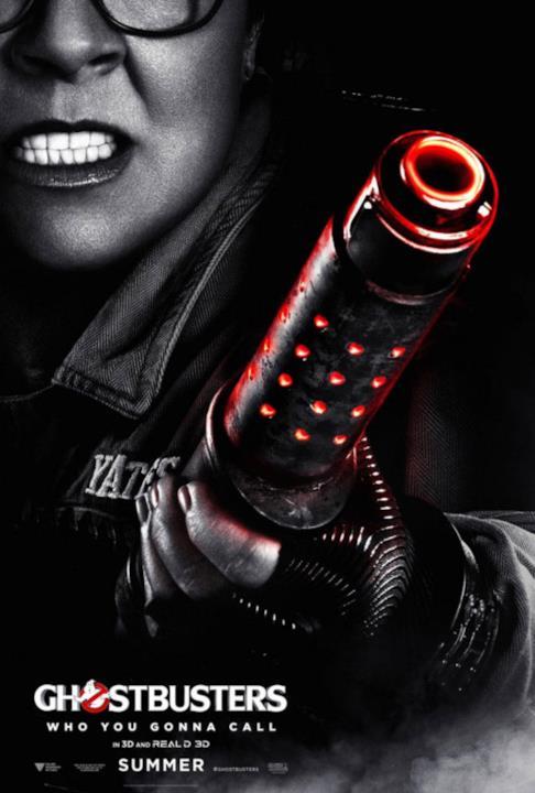Il nuovo ghostbusters ci mostra 4 nuovi poster con i protagonisti ...