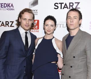 I 3 protagonisti principali di Outlander
