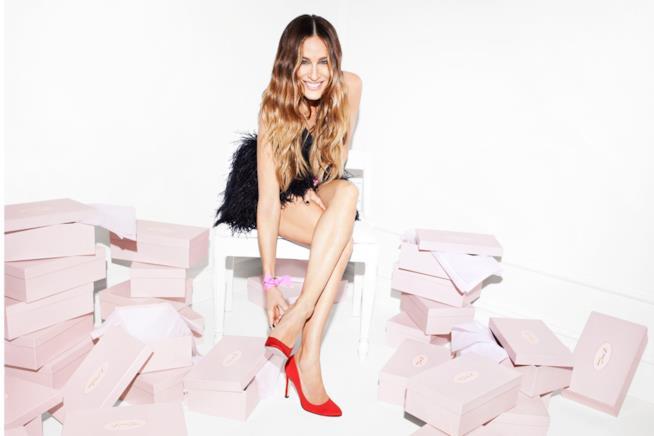 La collezione di scarpe firmate SJP, Sarah Jessica Parker