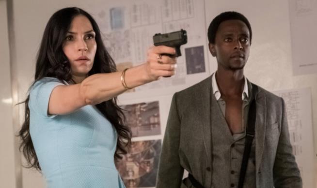 Una scena del season finale di The Blacklist: Redemption