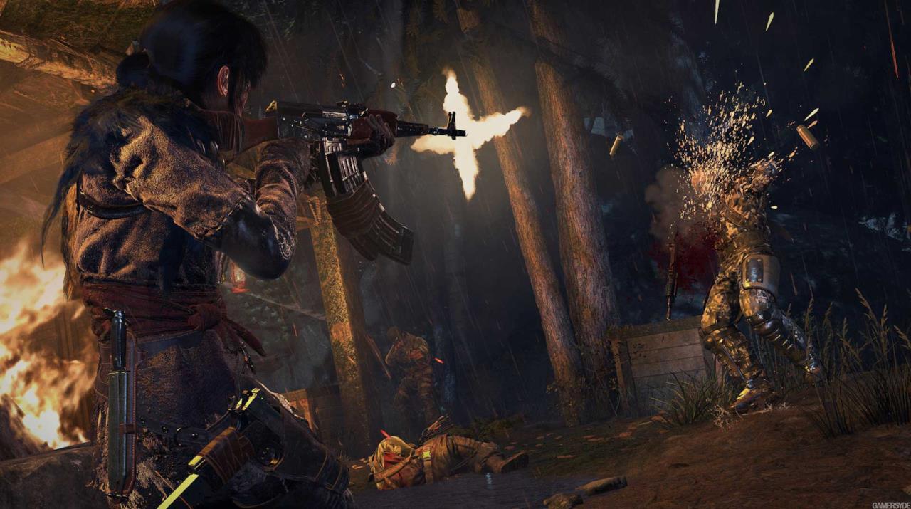 Lara Croft torna in azione su PS4