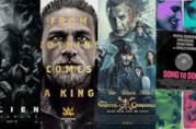 I poster di Alien - Covenant, King Arthur , La Vendetta di Salazar, Song to Song