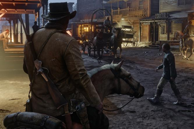 Red Dead Redemption 2 in uno screenshot rubato?