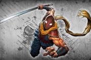 Il protagonista di Shadow Blade Reload in azione