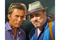 Desmond Harrington (Joey Quinn) e David Zayas (Angel Batista)