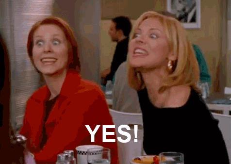 Miranda Hobbes e Samantha Jones