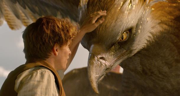 Newt Scamander e Frank in Animali Fantastici e Dove Trovarli