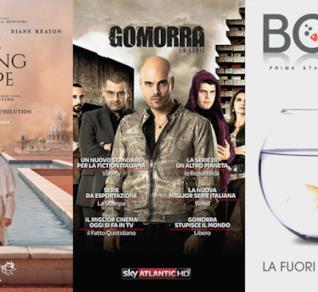 I poster di The Young Pope, Gomorra e Boris