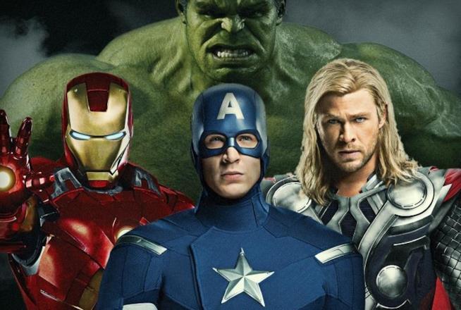Iron Man, Captain America, Thor e Hulk