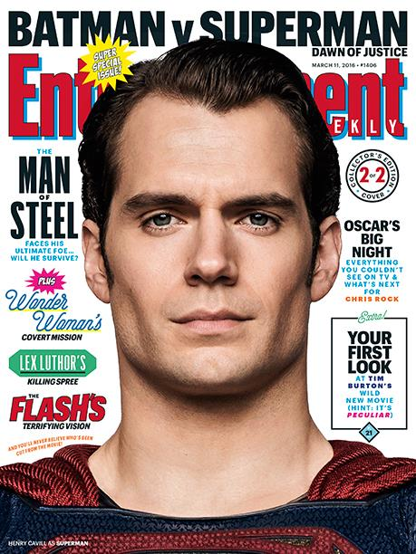 Ritratto di Henry Cavill per Entertainment Weekly