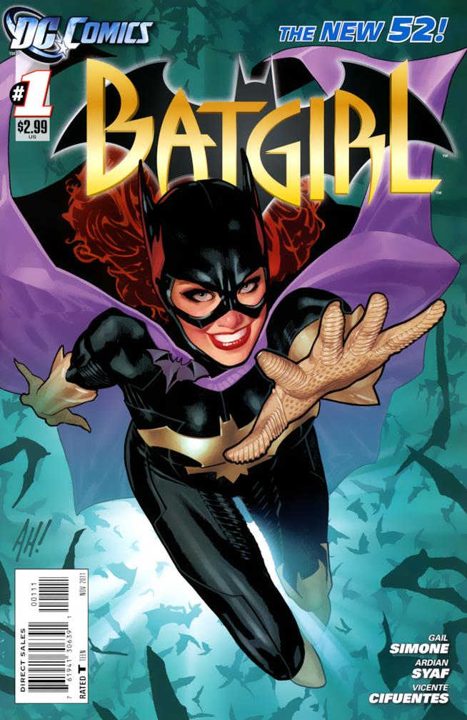I fumetti di Batgirl