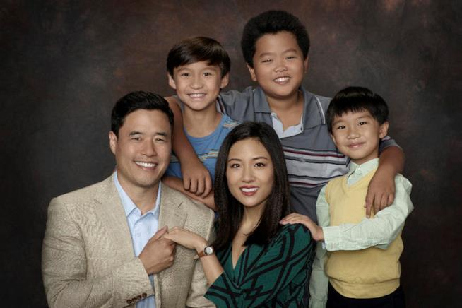 Il cast principale di Fresh off the Boat