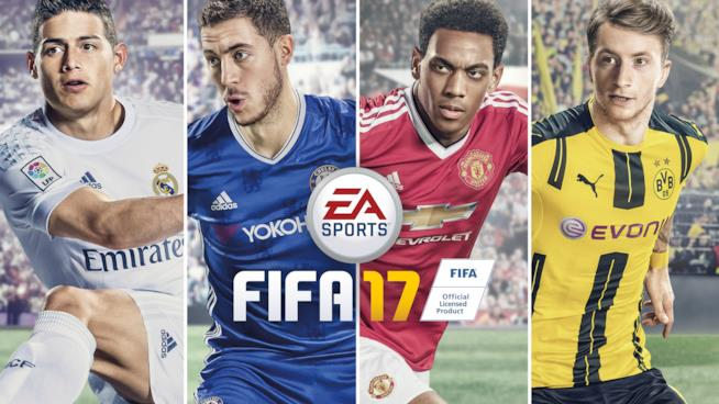 FIFA 17 è disponibile su PC e console