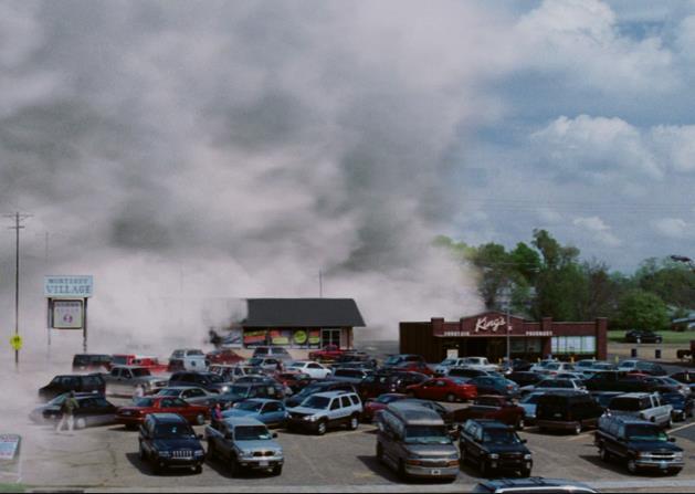 Una scena di The Mist, serie del 2017