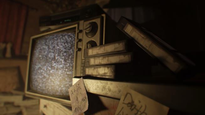 Una sequenza tratta dalla demo giocabile di RE7