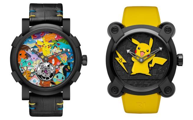 Gli orologi Pokémon creati da RJ-Romain Jerome