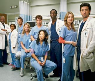 Il cast della prima stagione di Grey's Anatomy