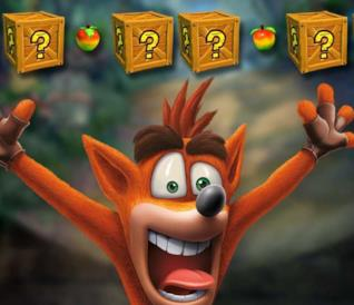 Un primo piano dell'irriverente Crash Bandicoot dalla Crash Bandicoot N.Sane Trilogy