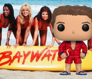 I Funko Pop! di Baywatch ci fanno affogare nella nostalgia degli anni '90