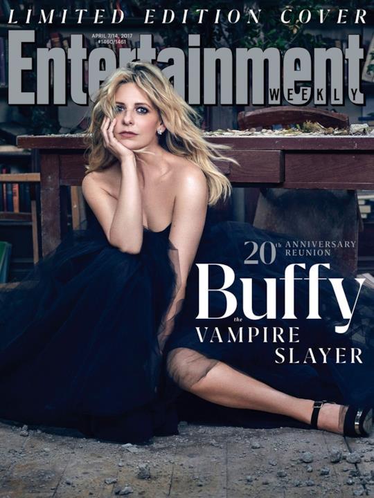 Sarah Michelle Gellar posa per la copertina di EW