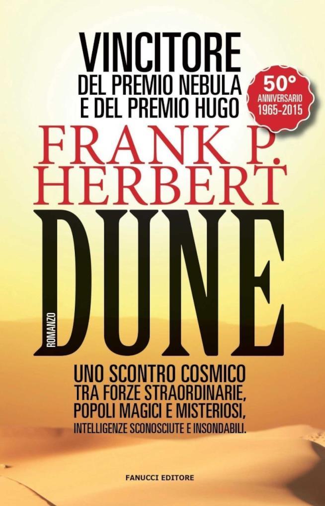 La copertina di Dune di Frank Herbert