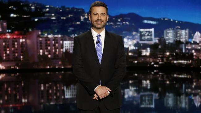 Il presentatore Jimmy Kimmel