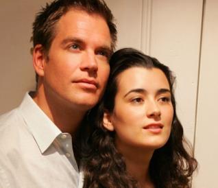 Tony DiNozzo e Ziva David in uno scatto suls et di N.C.I.S.