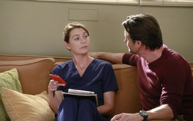 Una scena di Grey's Anatomy 13