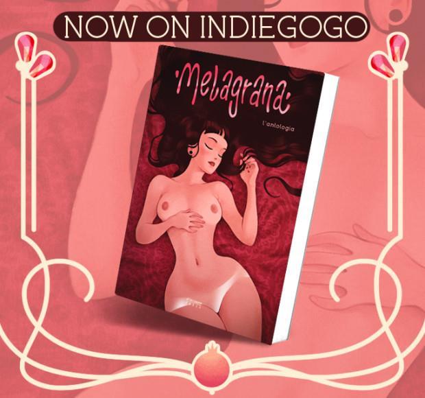 La copertina di Melagrana realizzata da Lorenzo Fornaciari