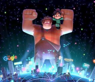 Ralph e Vanellope nella prima immagine ufficiale di Ralph Spaccatutto 2