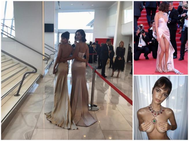 Cannes 2017: il sexy video di Bella Hadid ed Emily Ratajkowski