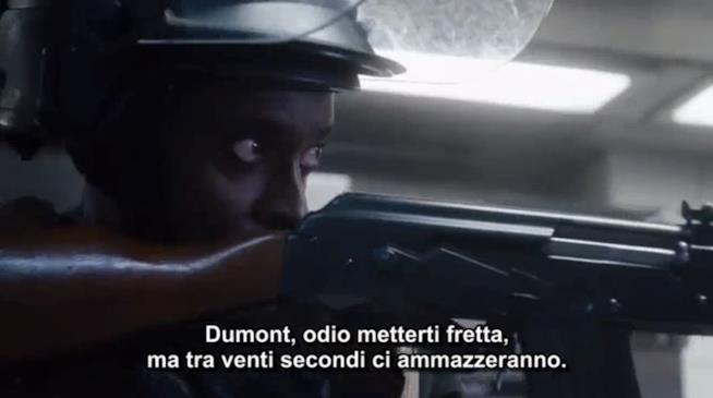 L'incursione in The Blacklist: Redemption 1x02