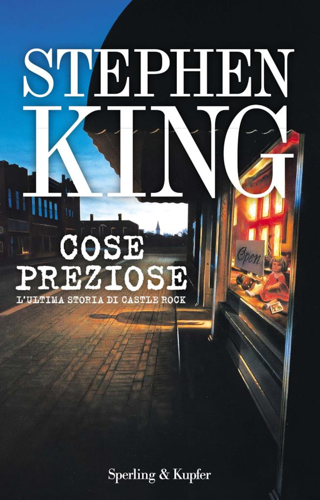 La copertina del romanzo Cose Preziose