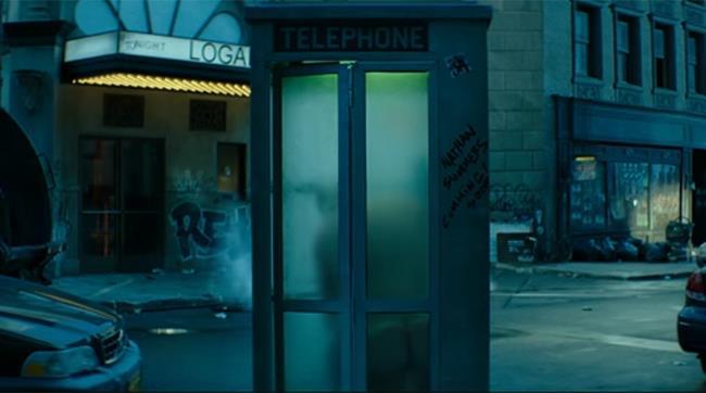 Deadpool 2: la scena della cabina del telefono