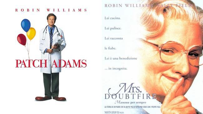 Patch Adams e Mrs. Doubtfire