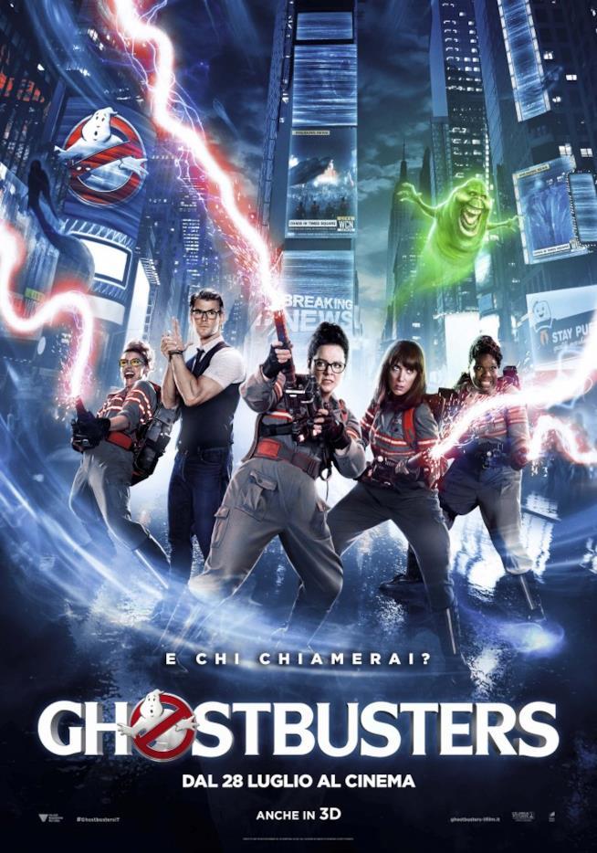 Le protagoniste di Ghostbusters nel poster ufficiale!
