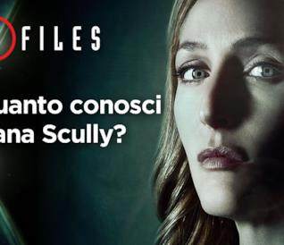 Quanto conosci Dana Scully?