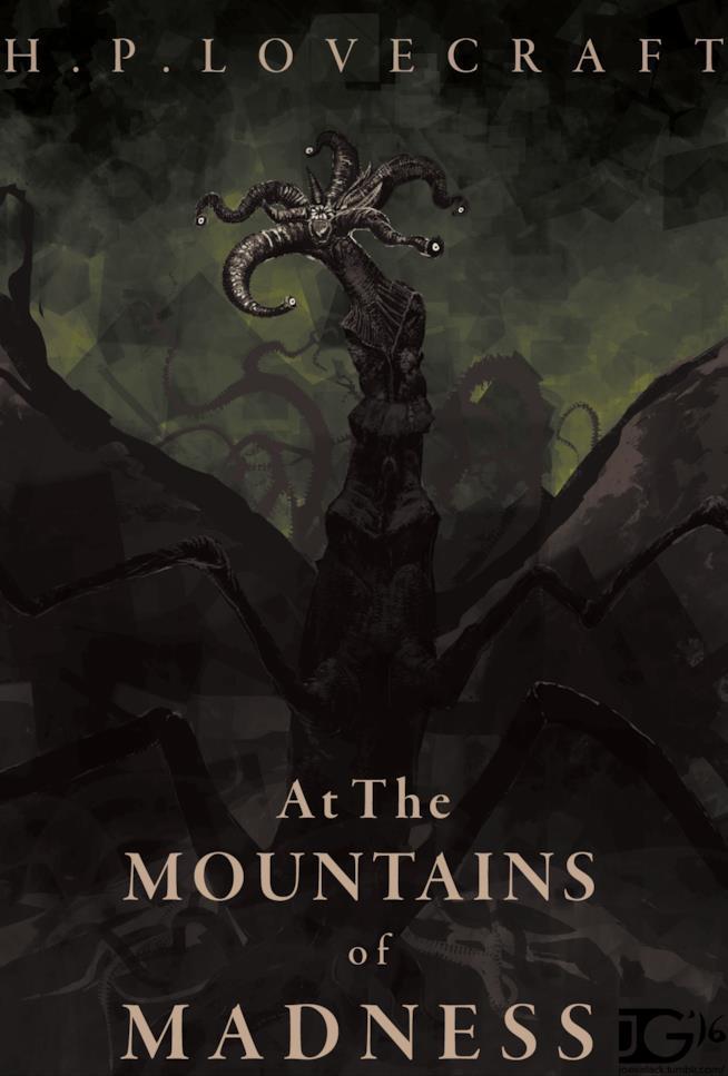 Le Montagne della Follia è stato scritto da H.P. Lovecraft