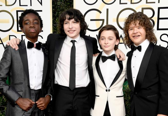 I piccoli protagonisti di Stranger Things