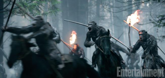 Il Pianeta delle Scimmie è pronto alla guerra