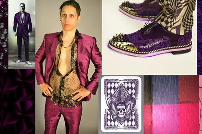 Disegni e realizzazioni del look del Joker