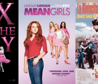 I poster di Sex and The City, Mean Girls e La Rivincita delle Bionde