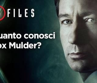 Quanto conosci Fox Mulder?