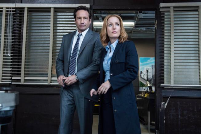 Mulder e Scully di X-Files