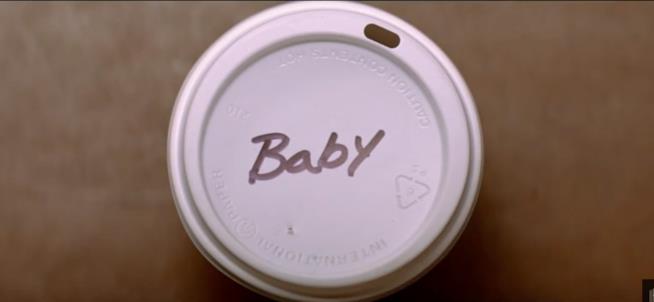 Il tappo col nome di Baby in Baby Driver
