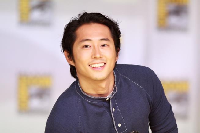 L'attore Steven Yeun di The Walking Dead