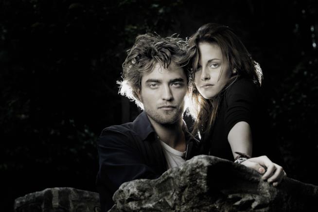 Kristen Stewart e Robert Pattinson sono Edward e Bella